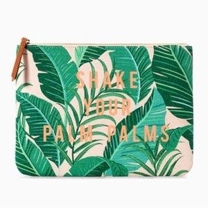 Stella & Dot Shake Your Palm Palms All In Pouch